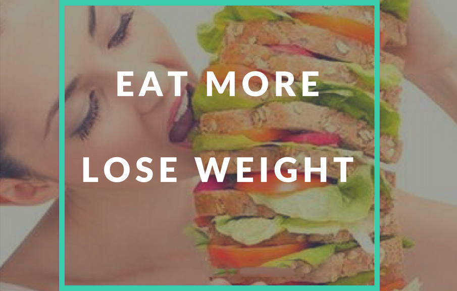 food agents lose weight eat more eat right