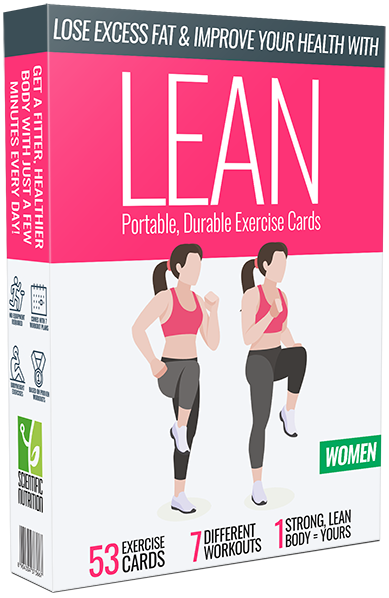 Lean exercise cards