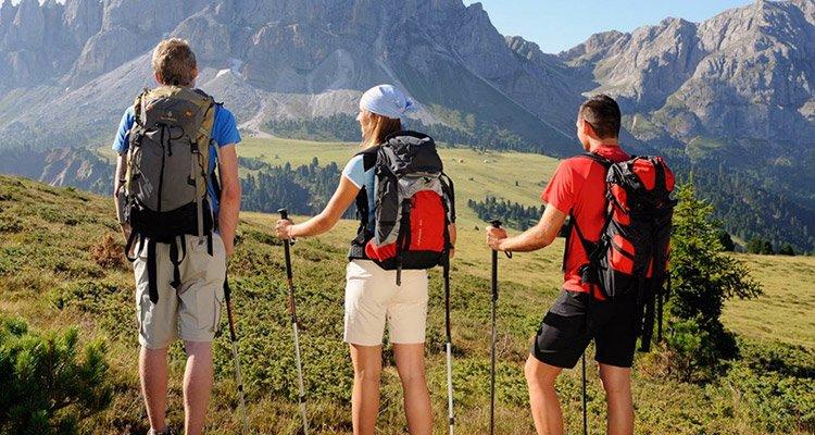 People going on treks