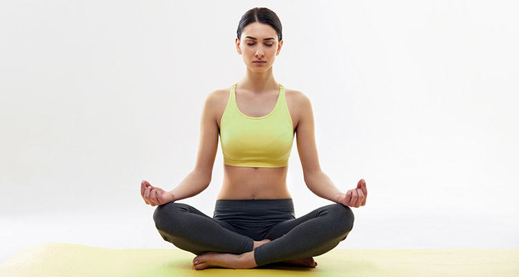 Yoga helps in losing weight